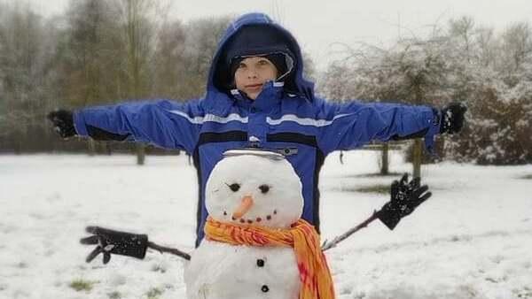 sněhulák dětský klub