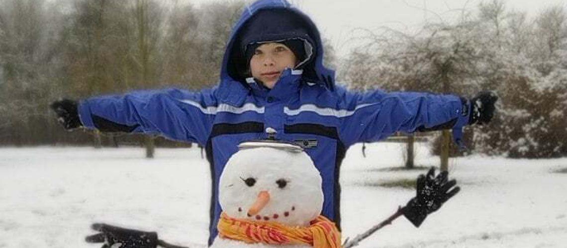 dětský klub online - sněhulák